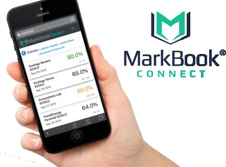 MarkBook CONNECT on Smartphone
